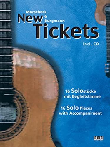 9783899221305: Morscheck & Burgmann. New Tickets: 16 Solostücke mit Begleitstimme, 16 Solo Pieces with Accompaniment