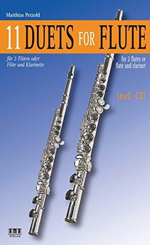 11 Duets for Flute: Matthias Petzold