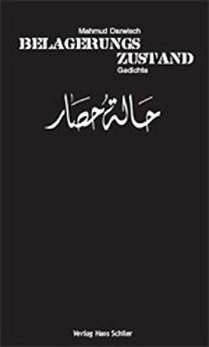 Belagerungszustand (Paperback): Mahmud Darwisch