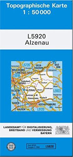 9783899330045: Alzenau i. UFr. 1 : 50 000