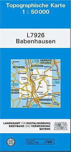 9783899330748: Babenhausen (N) 1 : 50 000
