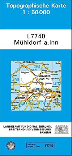 Mühldorf am Inn 1 : 50 000. Normalausgabe