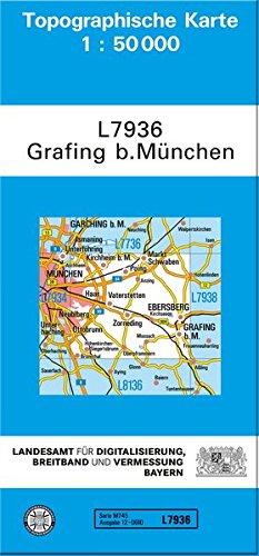 9783899332476: Grafing bei M�nchen 1 : 50 000