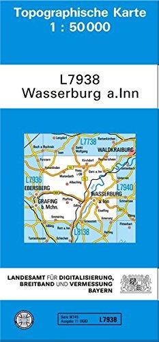 Wasserburg 1 : 50 000: Zivil-militärische Ausgabe
