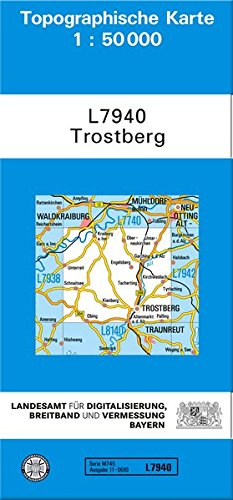 9783899332490: Trostberg 1 : 50 000