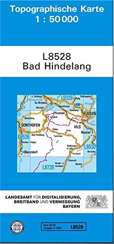 9783899332735: Bad Hindelang 1 : 50 000