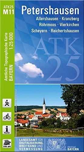 9783899334593: ATK25-M11 Petershausen 1:25 000