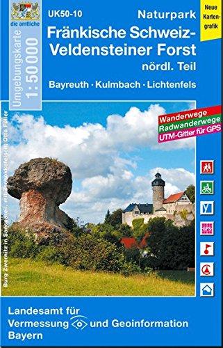 9783899335408: Naturpark Fränkische Schweiz nördlicher Teil 1 : 50.000: Bayreuth, Kulmbach, Lichtenfels