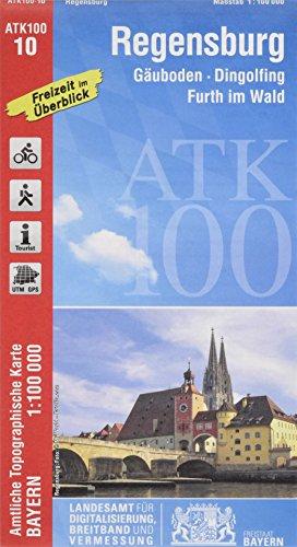 9783899335729: Freizeitkarte 10 Regensburg