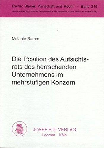 Die Position des Aufsichtsrats des herrschenden Unternehmens: Melanie Ramm