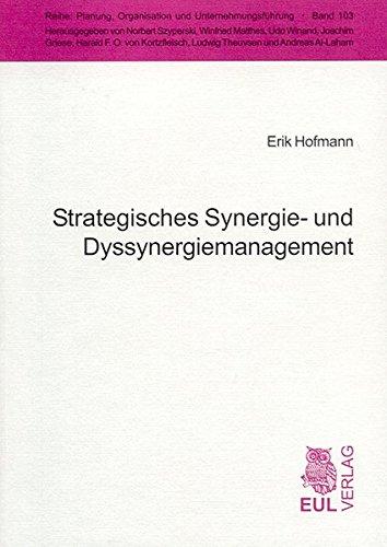 9783899362893: Strategisches Synergie- und Dyssynergiemanagement