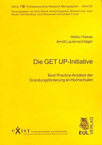 9783899364835: Die GET UP-Iniative