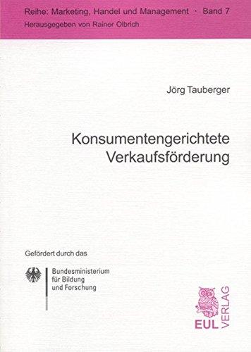 Konsumentengerichtete Verkaufsförderung: Jörg Tauberger