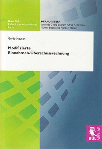 Modifizierte Einnahmen-Überschussrechnung: Guido Hausen