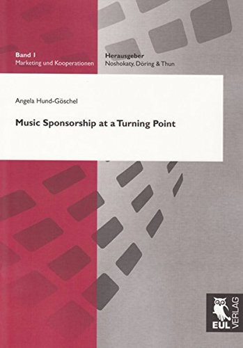 9783899368260: Music Sponsorship at a Turning Point (Marketing Und Kooperationen)