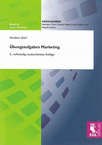 9783899369274: Übungsaufgaben Marketing