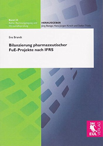 9783899369519: Bilanzierung pharmazeutischer FuE-Projekte nach IFRS