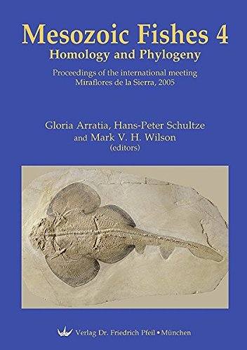 Mesozoic Fishes 4 - Homology and Phylogeny. Ökologisches Langzeitmonitoring: Gloria Arratia