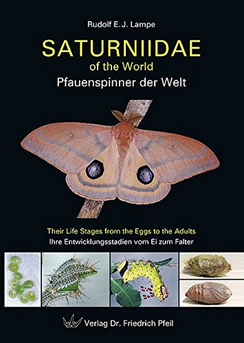 9783899370843: Saturniidae of the World Pfauenspinner der Welt: Their Life Stages from the Eggs to the Adults Ihre Entwicklungsstadien vom Ei zum Falter