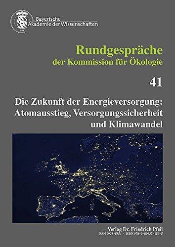 Die Zukunft der Energieversorgung:: Pfeil, Dr. Friedrich