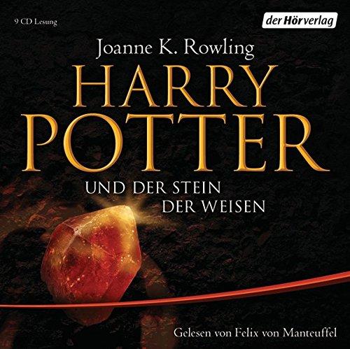 9783899403978: Harry Potter 1 und der Stein der Weisen. Ausgabe f�r Erwachsene: Gelesen von Felix von Manteuffel