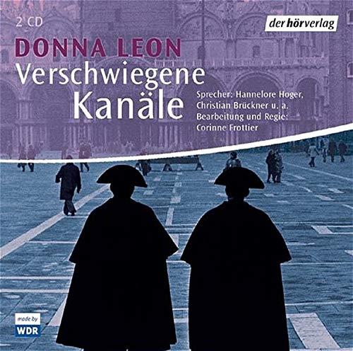9783899404395: Verschwiegene Kanäle. 2 CDs. . Commissario Brunettis zwölfter Fall;