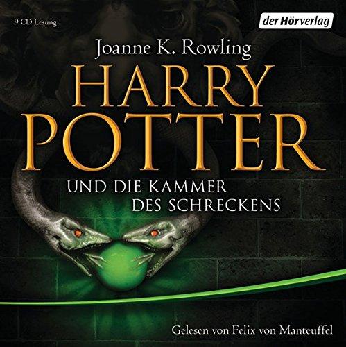 Harry Potter 2 und die Kammer des Schreckens. Ausgabe für Erwachsene: Gelesen von Felix von Manteuffel