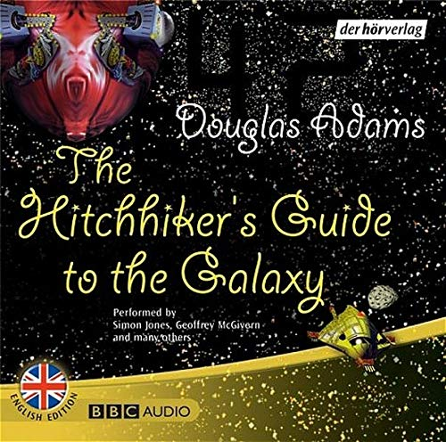 hitchhikers guide galaxy by douglas adams first edition abebooks. Black Bedroom Furniture Sets. Home Design Ideas