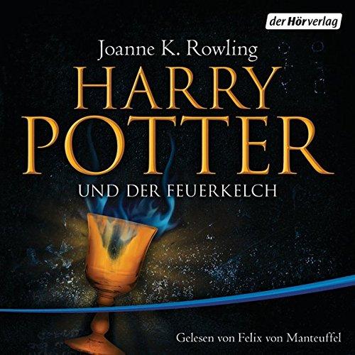 9783899407044: Harry Potter 4 und der Feuerkelch. Ausgabe für Erwachsene: Gelesen von Felix von Manteuffel