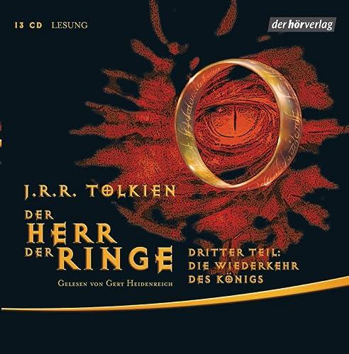 HERR DER RINGE 3 - MP3 -: Tolkien, J.R.R.