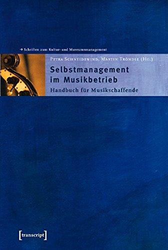 9783899421330: Selbstmanagement im Musikbetrieb.