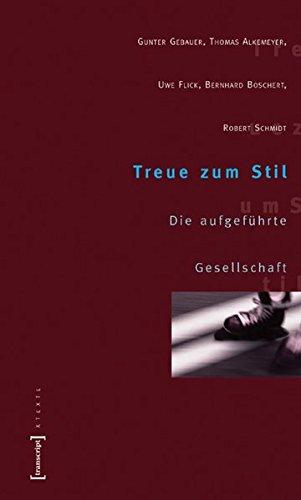 Treue zum Stil.: Schmidt, Robert