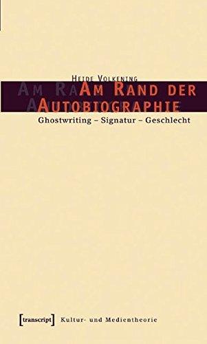 Am Rand der Autobiographie: Heide Volkening