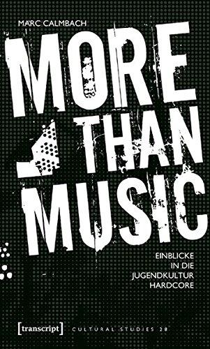 9783899427042: More than Music: Einblicke in die Jugendkultur Hardcore