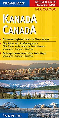 Reisekarte : Kanada