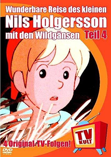 9783899451641: Wunderbare Reise des kleinen Nils Holgersson mit den Wildg?nsen, Teil 4. DVD-Video.