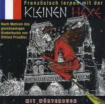 9783899459043: Französisch lernen mit der kleinen Hexe, 1 Audio-CD