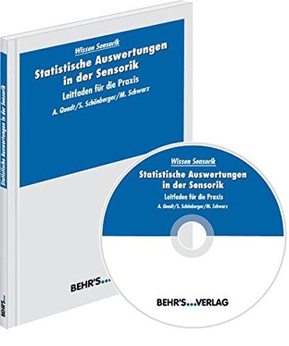 9783899475319: Statistische Auswertungen in der Sensorik, m. CD-ROM