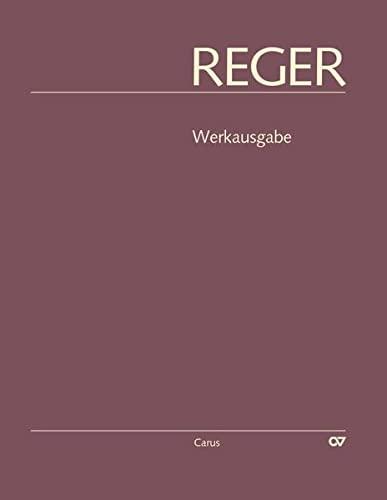 9783899482065: Reger-Werkausgabe, Bd. I/5: Orgelstücke I - Organ - Book
