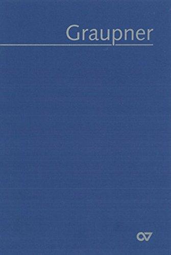Graupner: Thematisches Verzeichnis der musikalischen Werke (GWV): Christoph Graupner