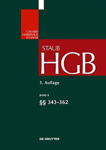9783899494143: 343-362 (Grokommentare Der Praxis) (German Edition)