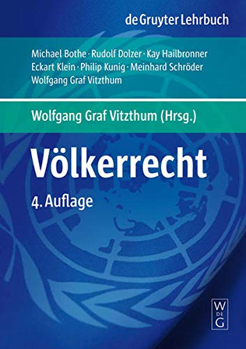 9783899494259: V�lkerrecht (De Gruyter Lehrbuch)