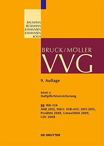 9783899495065: 100-124 VVG: (Haftpflichtversicherung, Produkt, D&O, Umwelt) (Grosskommentare der Praxis)