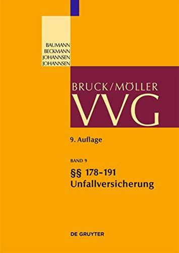 9783899495096: 178-191; Allgemeine Unfallversicherungsbedingungen 2008 (Gro Kommentare Der Praxis) (German Edition)