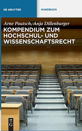 9783899497151: Kompendium zum Hochschul- und Wissenschaftsrecht (de Gruyter Handbuch) (German Edition)