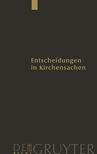 Entscheidungen in Kirchensachen seit 1946 / 1.1.-31.12.2005: Manfred Baldus