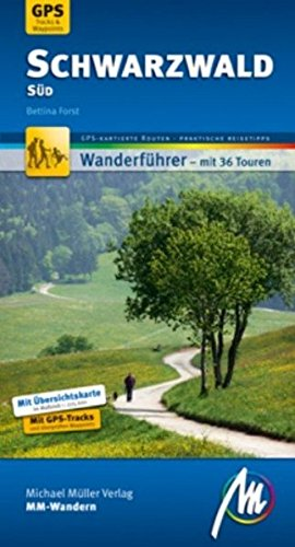 9783899537352: Schwarzwald Süd: Wanderführer mit GPS-gestützten Wanderungen