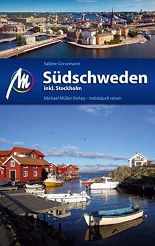 9783899538502: Südschweden inkl. Stockholm