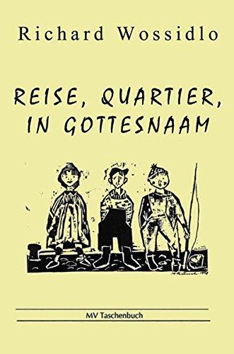 9783899541458: Reise, Quartier, in Gottesnaam: Das Seemannsleben auf den alten Segelschiffen im Munde alter Fahrensleute (Livre en allemand)