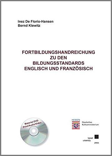 9783899585483: Fortbildungshandreichung zu den Bildungsstandards Englisch und Franz�sisch